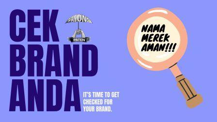 cek merek gratis brand dan logo