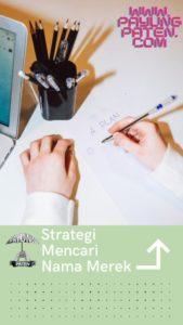 strategi mencari nama merek