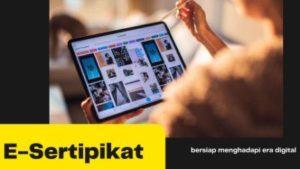 Sertipikat Elektronik dalam era digital